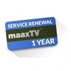 Service Renewal for MaaxTV - 1 year