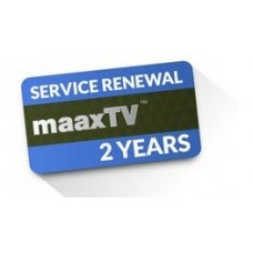 Service Renewal for MaaxTV - 2 years