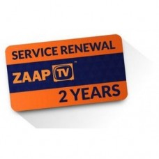 Service Renewal for ZaapTV - 2 years